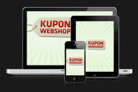Kuponwebshop - mobil, tablet, PC