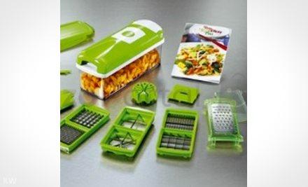 Multifunkciós konyhai szeletelő aprító